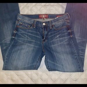 LUCKY BRAND JEANS SIZE 10 SOPHIE BOOT CUT